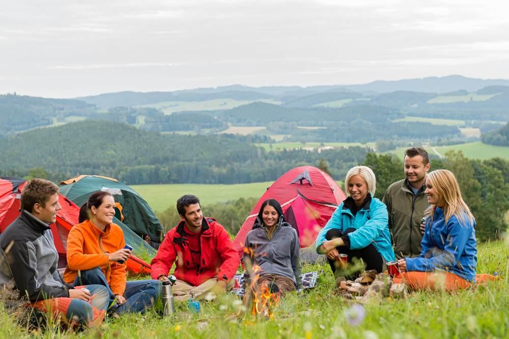 Les campings avec emplacements nus, tente et caravane-2