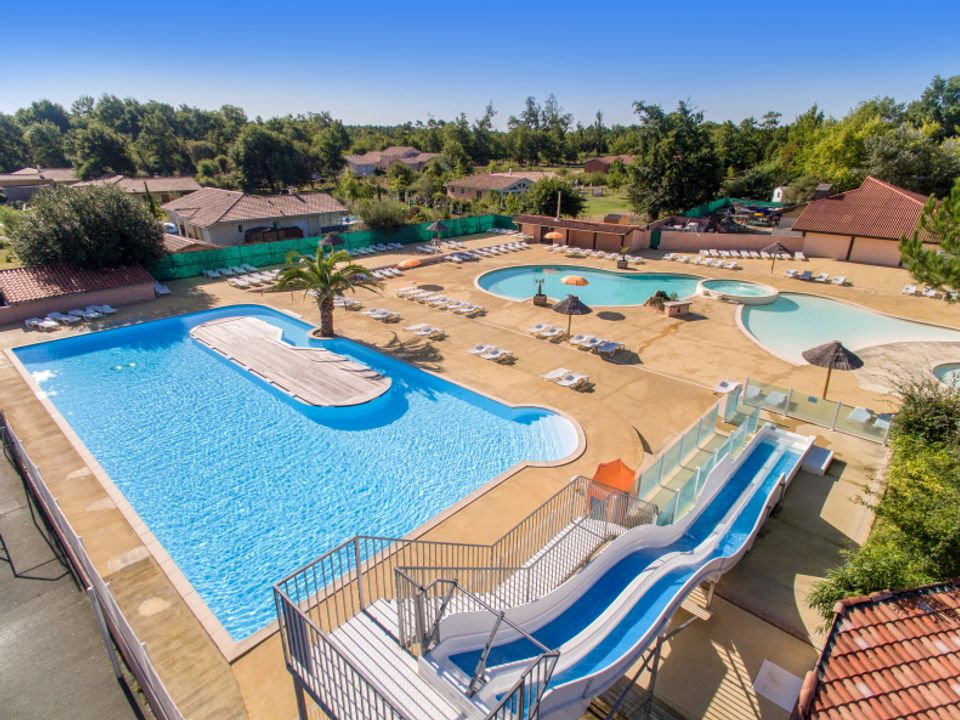 Camping Domaine d'Eurolac - Camping Landes