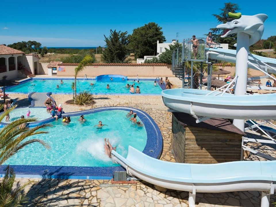 Camping La Coste Rouge - Camping Pyrenees-Orientales