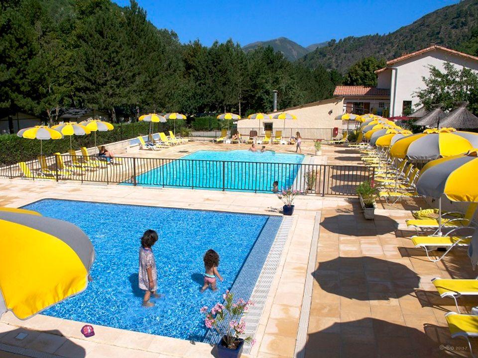 Camping Les Eaux Chaudes - Camping Alpes-de-Haute-Provence