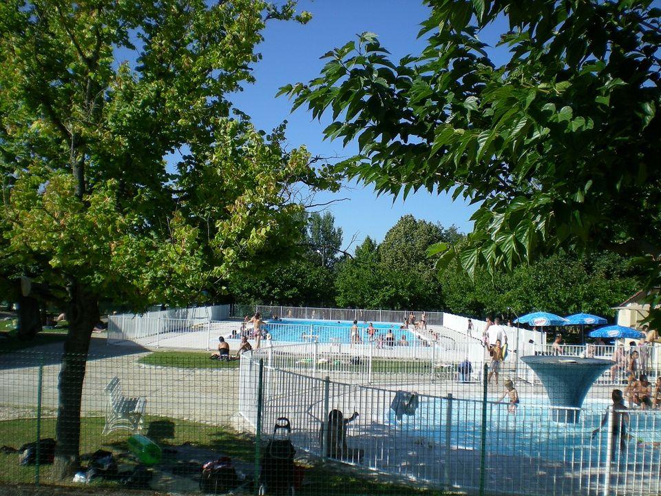 Camping du Plan d'Eau - Camping Alto Garona