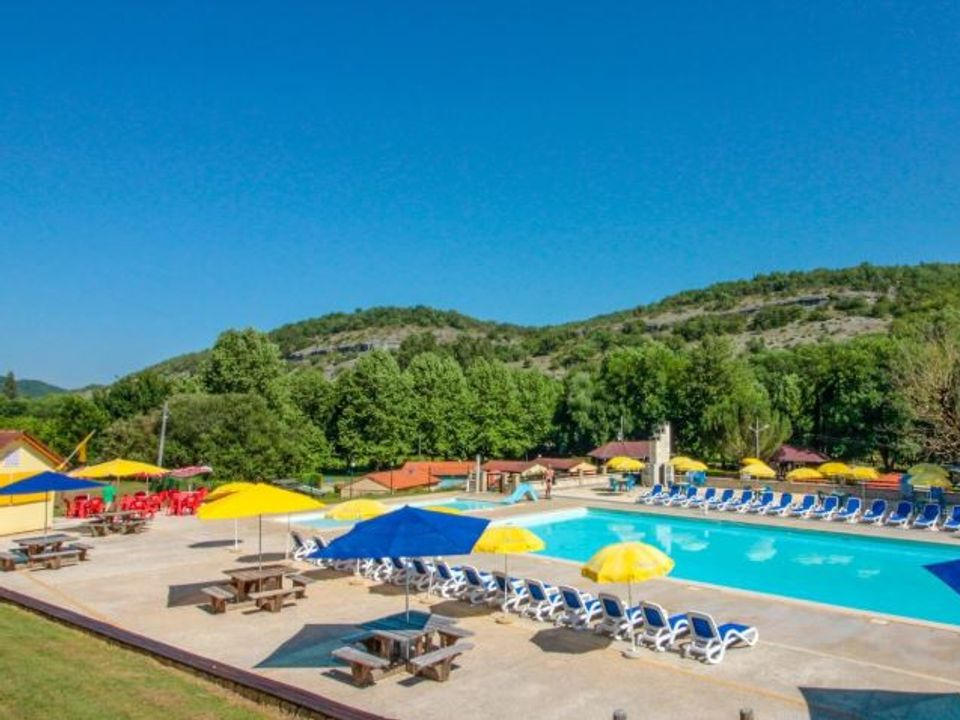 Camping La Draille - Camping Lot