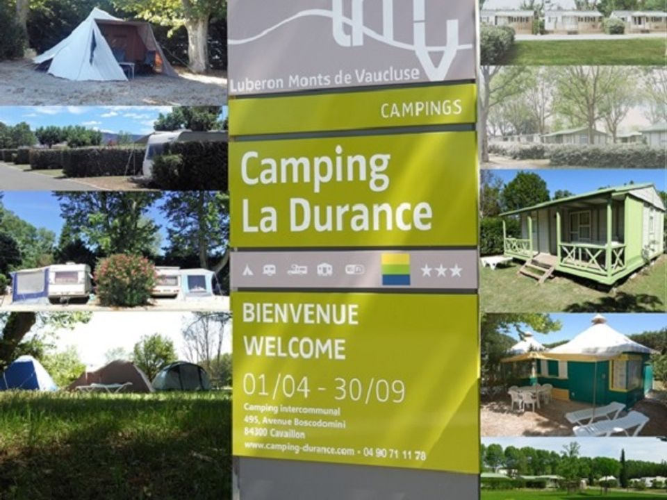 Camping Intercommunal de la Durance - Camping