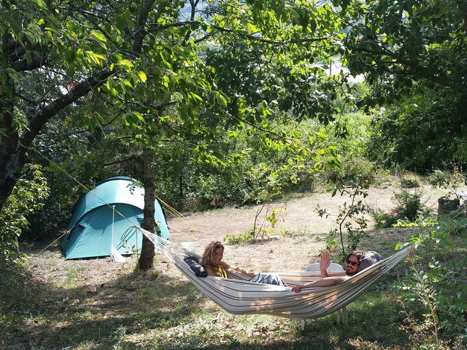 Aire Naturelle de Camping Les Cerisiers - Camping Loire