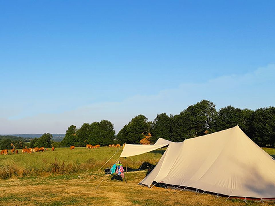 Camping à la ferme La Rhue - Camping Dordogne