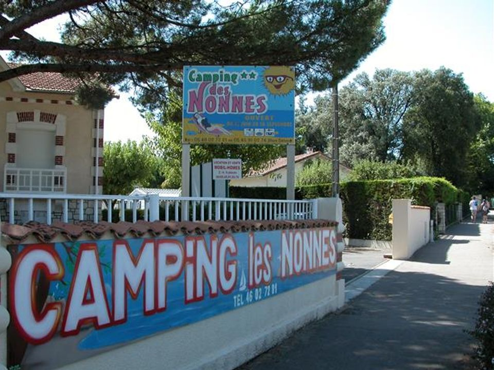 Camping Les Nonnes - Camping