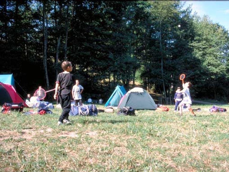 Camping aire naturelle de Point D'accueil Jeunes - Camping Rhône