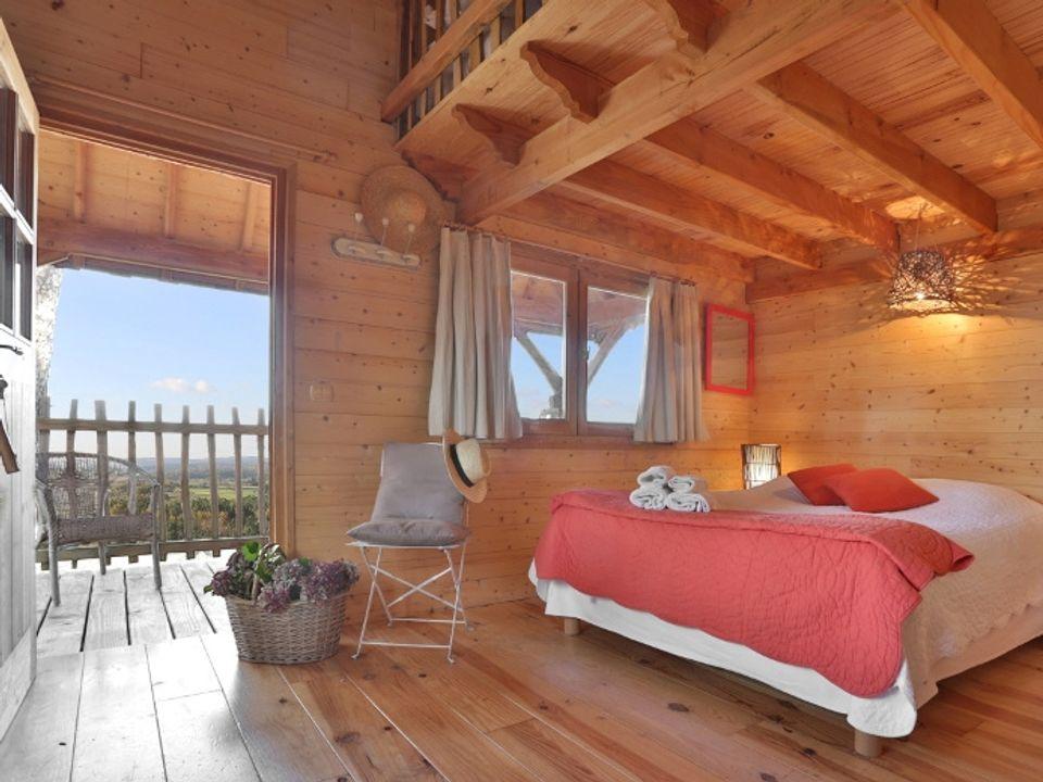les cabanes de vaure - Camping Dordogne
