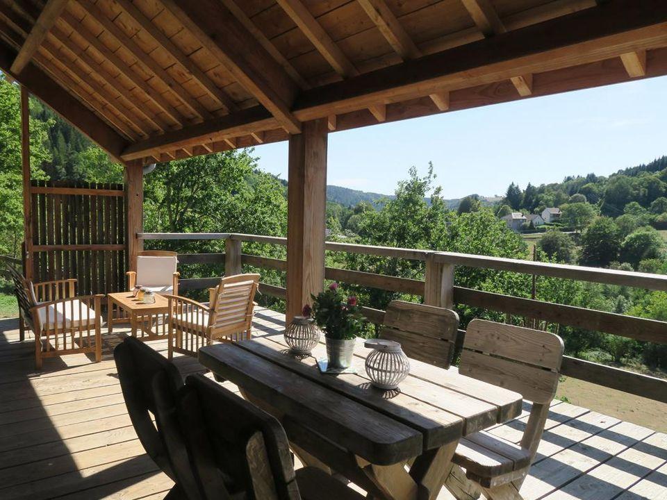 les cabanes de la guinguette - Camping Puy-de-Dome