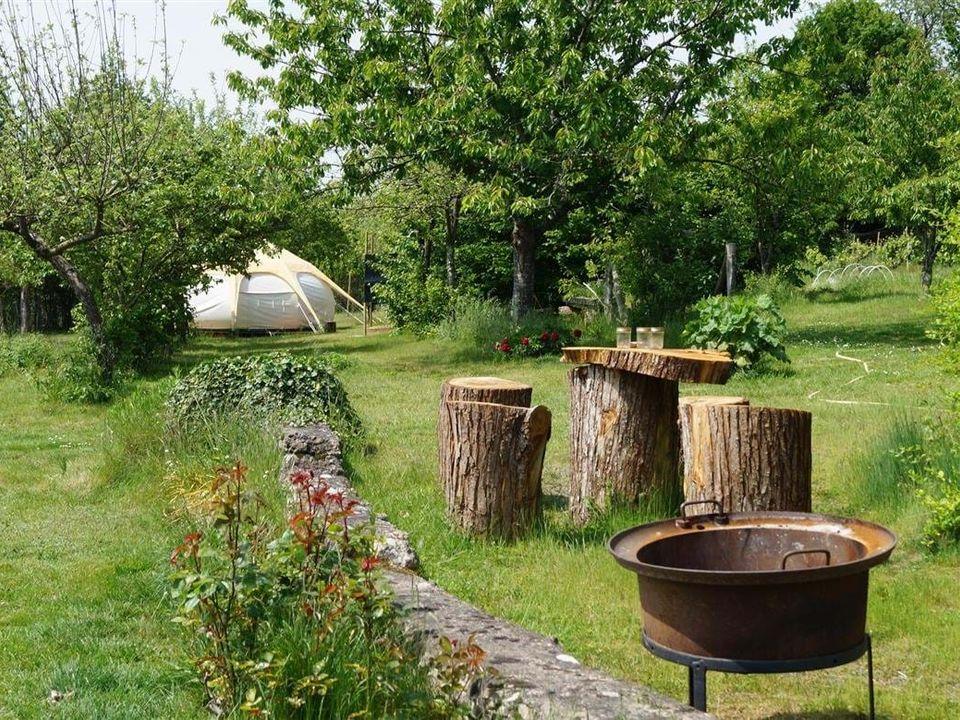 Loire Valley Llama Farm Stay - Camping Sarthe