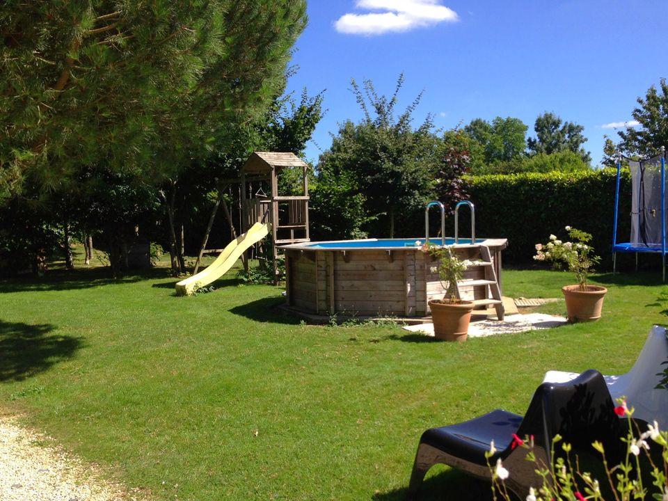 yourte au paradis - Camping Deux-Sevres