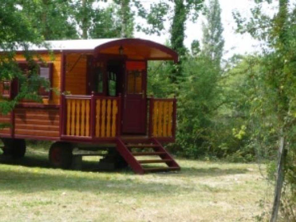 les roulottes de la bosselerie - Camping Loire-Atlantique