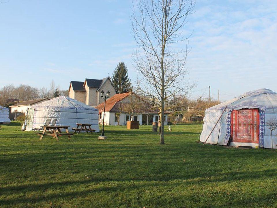 Les Yourtes Bourcominoises - Camping Aisne