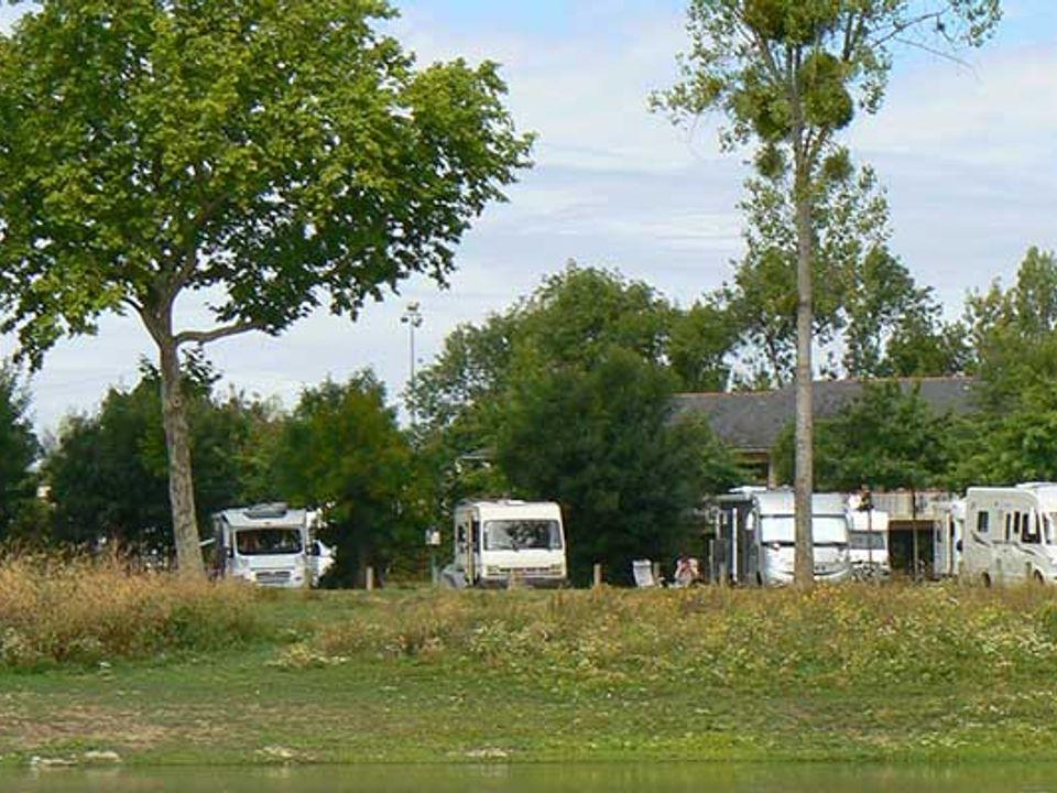 Aire d'accueil des campings cars de Bouchemaine - Camping Maine-et-Loire