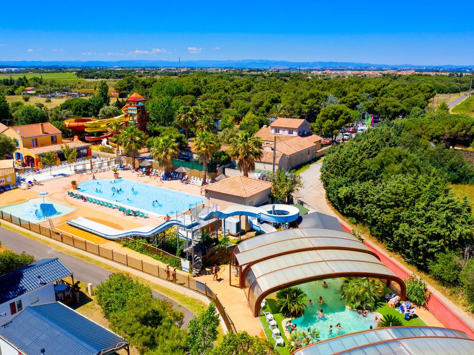 Camping Domaine Les Vignes d'Or - Camping Herault