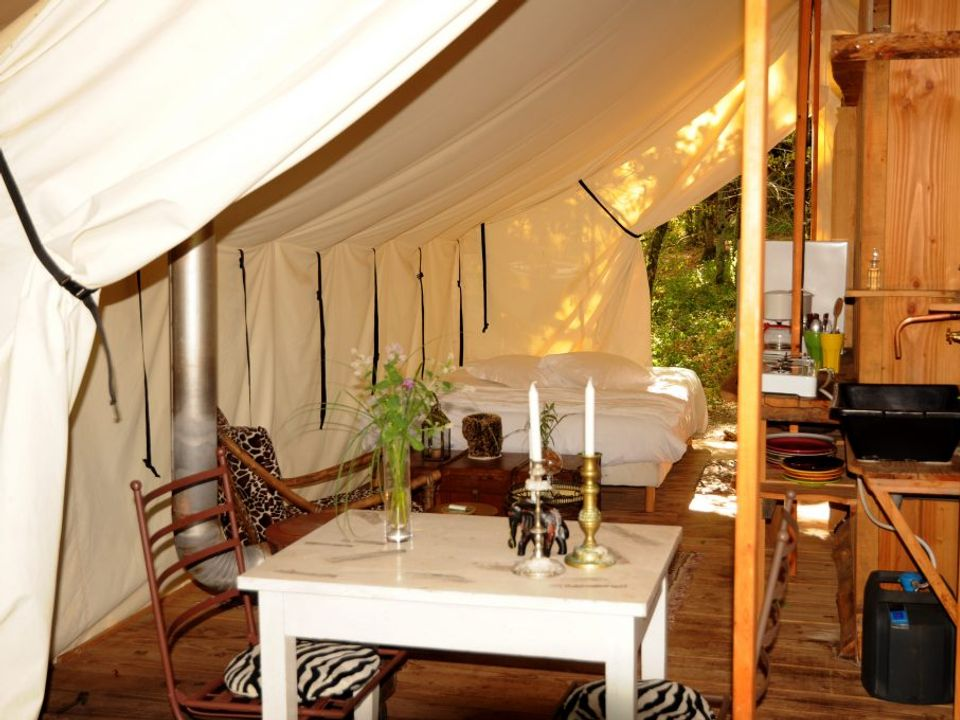 Camping Glamping Terre-Rouge - Camping Aveyron