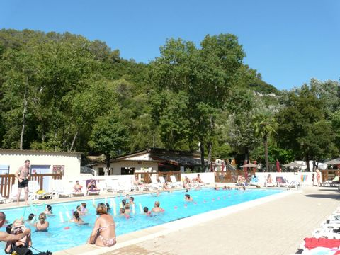 Camping  Au Vallon Rouge - Camping Alpes-Maritimes - Image N°3