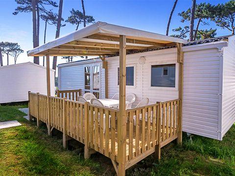MOBILHOME 7 personnes - COSY PLUS climatisé 7 personnes  3 chambres  (I73C)