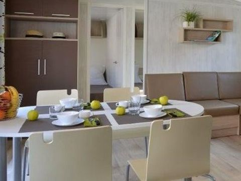 MOBILHOME 6 personnes - GRAND CONFORT (3 chambres)