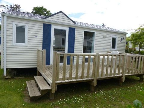 MOBILHOME 4 personnes - Confort 2 chambres - Terrasse