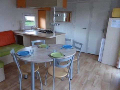 MOBILHOME 5 personnes - Confort 2 chambres - Terrasse semi couverte