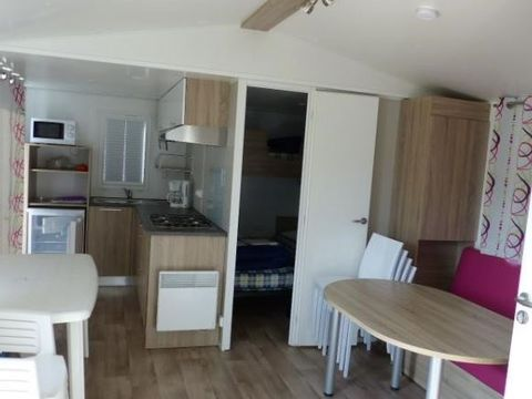 MOBILHOME 6 personnes - Confort 3 chambres - Terrasse