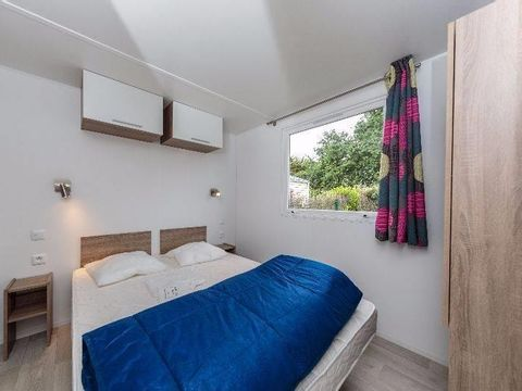 MOBILHOME 7 personnes - Confort 3 chambres - Terrasse