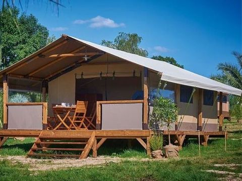 BUNGALOW TOILÉ 5 personnes - Tente Kenya