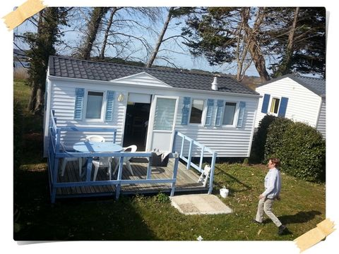 MOBILHOME 4 personnes - (couettes et oreillers non fournis)