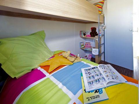 BUNGALOW TOILÉ 5 personnes - 2 chambres - 21m² sans sanitaire