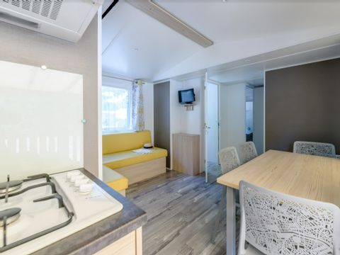 MOBILHOME 8 personnes - 3 chambres confort - 34m²