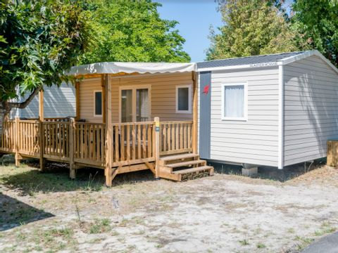 MOBILHOME 8 personnes - 3 chambres confort - 34m² *
