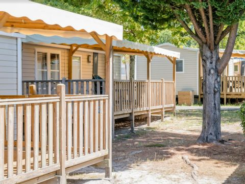 MOBILHOME 6 personnes - 2 chambres confort- 30m² *