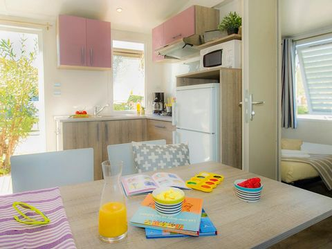 MOBILHOME 4 personnes - Classic 2 chambres (H4P2)