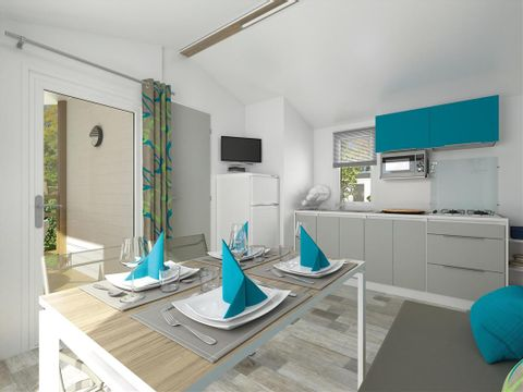 MOBILHOME 5 personnes - Cottage - Vue Mer