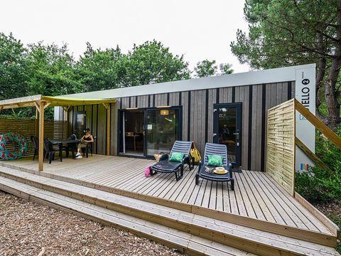 MOBILHOME 4 personnes - Cottage VIP avec 2 salles de bain