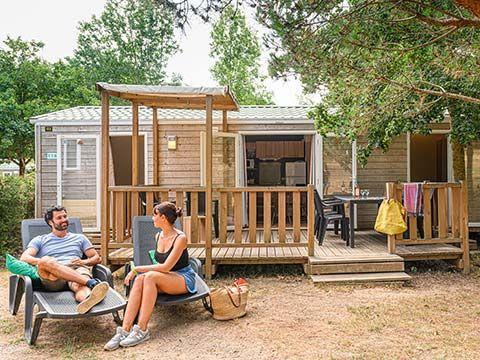 MOBILHOME 8 personnes - Cottage Confort 4 chambres avec 2 salles de bain