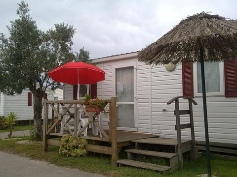 MOBILHOME 4 personnes - T2 Luxe