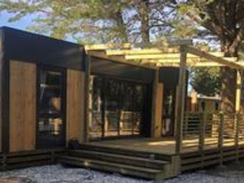 MOBILHOME 7 personnes - HELIOS - 2 chambres + terrasse + climatisation