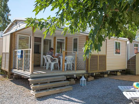 MOBILHOME 6 personnes - HIBISCUS