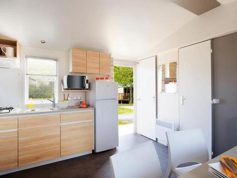 MOBILHOME 6 personnes - BASTION