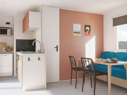 MOBILHOME 5 personnes - Confort, 2 chambres