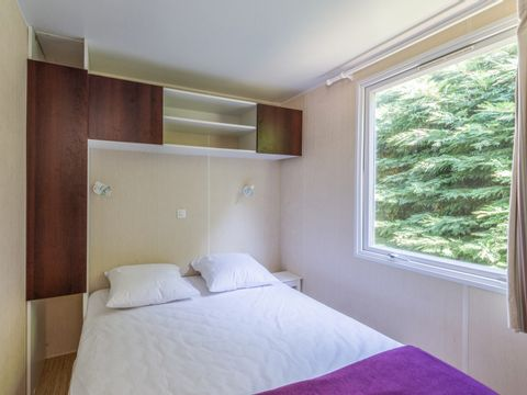 MOBILHOME 6 personnes - 2 chambres, terrasse couverte