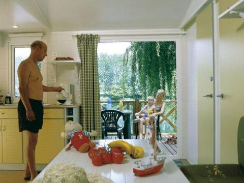 MOBILHOME 6 personnes - 2 chambres, vue rivière