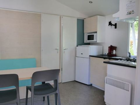 MOBILHOME 4 personnes - COTTAGE LUXE (avec loggia)