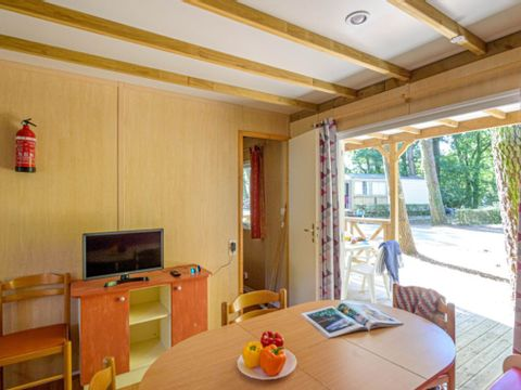MOBILHOME 7 personnes - COTTAGE FAMILY