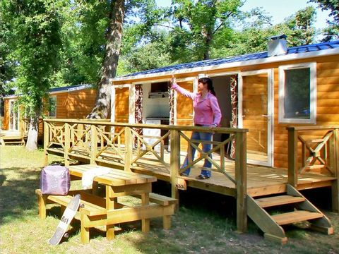MOBILHOME 6 personnes - SEQUOIA, 3 Chambres