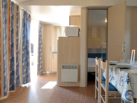 MOBILHOME 6 personnes - STANDARD GOLD PET