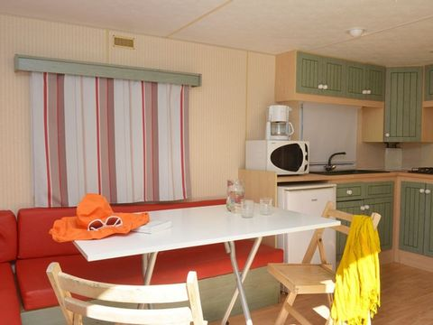 MOBILHOME 6 personnes - CONFORT 2 Chambres