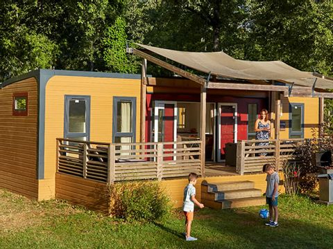 MOBILHOME 8 personnes - Aspect - 3 chambres